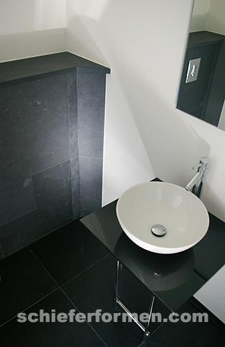 Bodenplatte schiefer 60 x 60 x 1cm schwarz black brazil - Schwarze fliesen 30x60 ...
